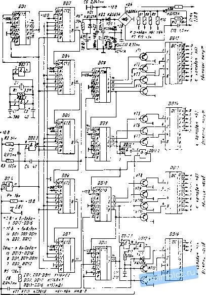 Часы на микросхемах К176ИЕ2