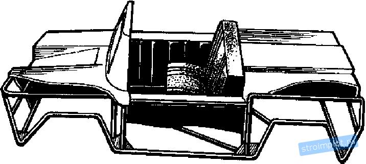 Схема конструкции кузова