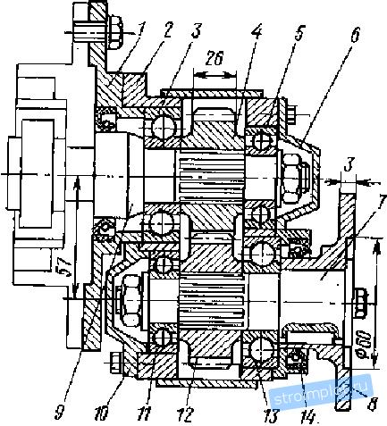 Схема вариатора В. Миронова