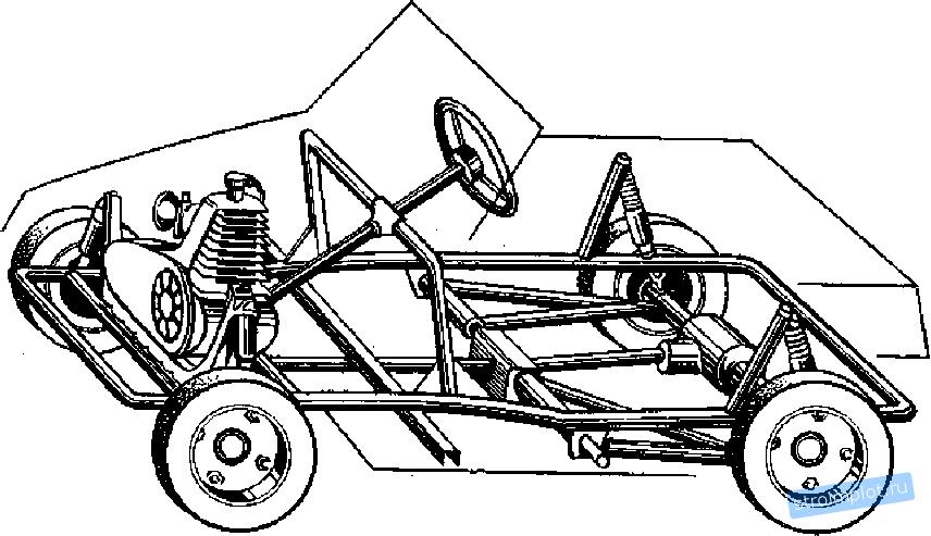 Как сделать из запорожца багги чертежи 131