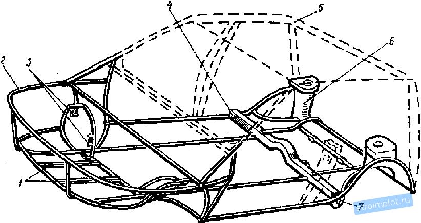 204Рама для авто чертежи