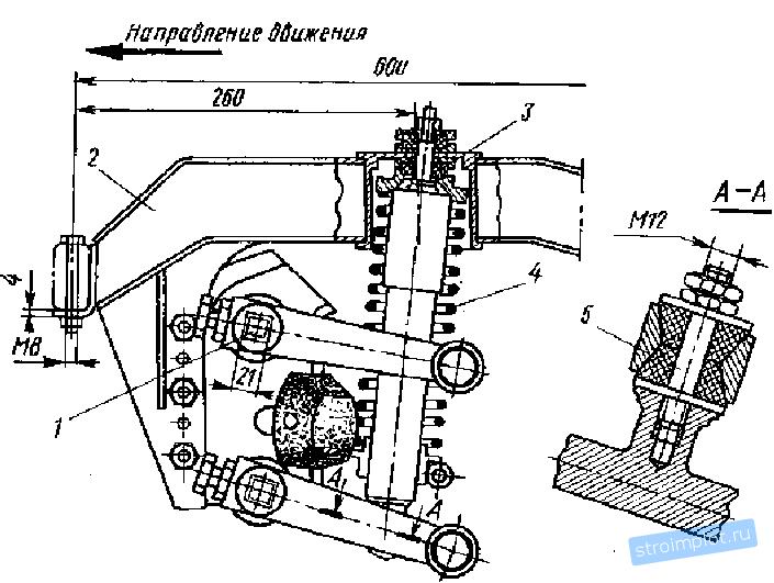 Конструктивная схема передней